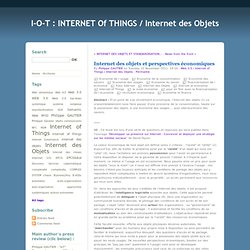 Internet of Things and Prospects - IOT: Internet of Things / Internet of Things