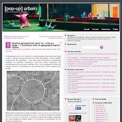 Quelles perspectives pour la «ville au large» ? Entretien avec le géographe Martin Vanier
