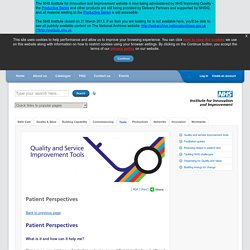 Patient Perspectives