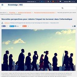 Nouvelles perspectives pour réduire l'impact du turnover dans l'informatique