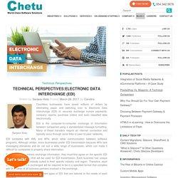 Technical Perspectives: Electronic Data Interchange (EDI)
