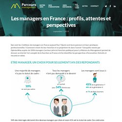 Les managers en France : profils, attentes et perspectives - Parcours Management