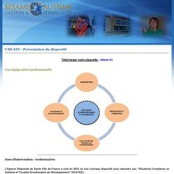 Sesame - Autisme : Gestion & Perspectives - SAGEP - UMI-TED - Présentation du dispositif