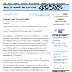 New Economic PerspectivesNew Economic