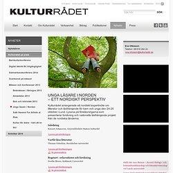 Unga läsare i Norden <br />– ett nordiskt perspektiv - Kulturradet