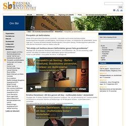 Perspektiv på läsförståelse - SBI