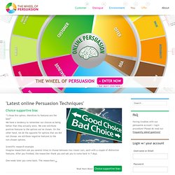Wheel of Persuasion: The world largest collection of Online Persuasion Techniques