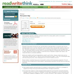read write think persuasion essay map