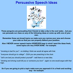 ... speech good persuasive essay topics for college students - Leabhar.ie