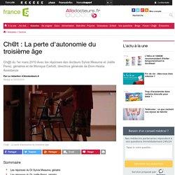 Ch@t : La perte d'autonomie du troisième âge