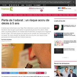 Perte de l'odorat : un risque accru de décès à 5&nbspans