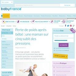 Perte de poids après bébé: une maman sur cinq subit des pressions - Infos