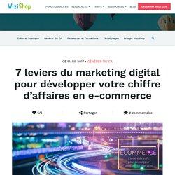 7 leviers du marketing digital pertinents pour l'acquisition clients