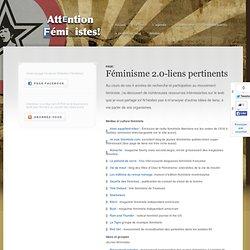 Féminisme 2.0-liens pertinents
