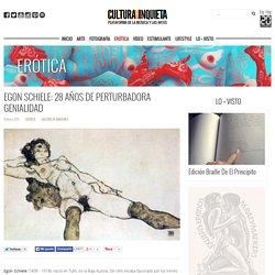 Egon Schiele: 28 años de perturbadora genialidad