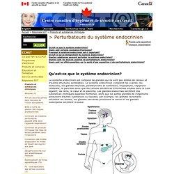 Perturbateurs du système endocrinien