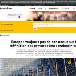 Europe : toujours pas de consensus sur la définition des perturbateurs endocriniens