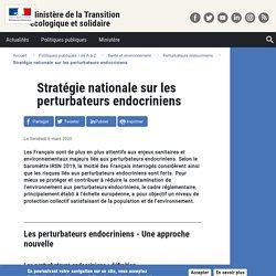 Stratégie nationale sur les perturbateurs endocriniens