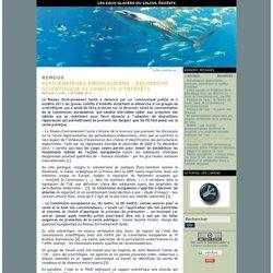 BLOG EAUX GLACEES 03/10/13 Perturbateurs endocriniens : recherche scientifique et conflits d'intérêts