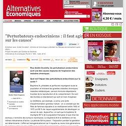 """""""Perturbateurs endocriniens: il faut agir sur les causes"""""""