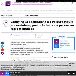 Lobbying et régulations 2 : Perturbateurs endocriniens, perturbateurs de processus réglementaires