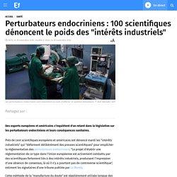 """100 scientifiques dénoncent le poids des """"intérêts industriels"""""""