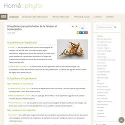 Acouphènes par perturbation de la tension et homéopathie - Homeophyto