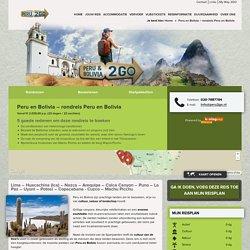 Peru en Bolivia – rondreis Peru en Bolivia