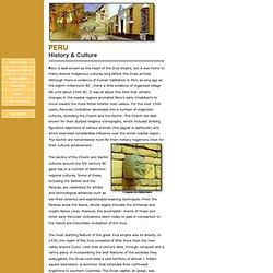 Peru - History & Culture