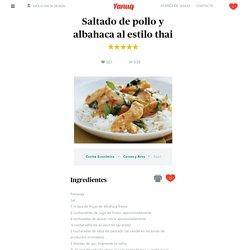 Yanuq, Cocina peruana paso a paso - Saltado de pollo y albahaca al estilo thai