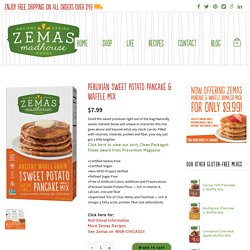 Peruvian Sweet Potato Pancake & Waffle Mix - Zemas Madhouse Foods