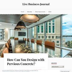 How Can You Design with Pervious Concrete - Concrete Surface Design