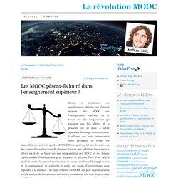 Les MOOC pèsent-ils lourd dans l'enseignement supérieur ?