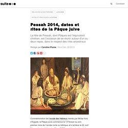 Pessah, les rites de la Pâque juive