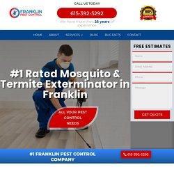Franklin termite management