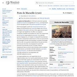 Peste de Marseille (1720)