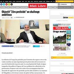 """Objectif """"Zéro pesticide"""" un challenge ambitieux"""