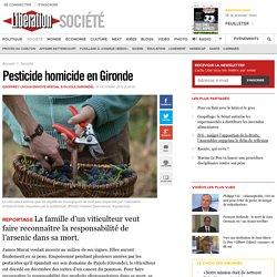 Pesticide homicide en Gironde