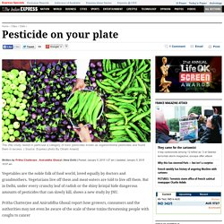 Pesticide on your plate