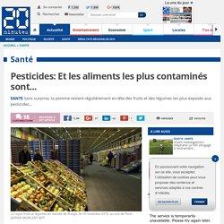 Pesticides: Et les aliments les plus contaminés sont...