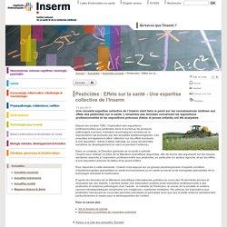 Pesticides : Effets sur la santé - Une expertise collective de l'Inserm