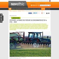 Pesticides : la France veut réduire sa consommation de 50 % d'ici… 2025