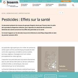 Pesticides : Effets sur la santé