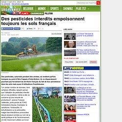 Des pesticides interdits empoisonnent toujours les sols français