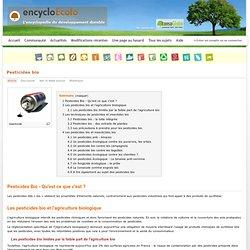 Pesticides bio