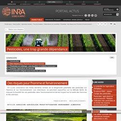 Pesticides : des risques pour l'homme et l'environnement