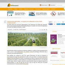Victimes des pesticides: un projet de loi ébauche le futur fonds d'indemnisation