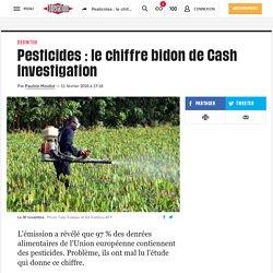 (1) Pesticides : le chiffre bidon de Cash Investigation