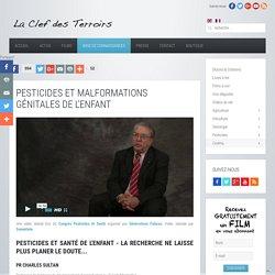 Pesticides et malformations génitales de l'enfant - Charles Sultan