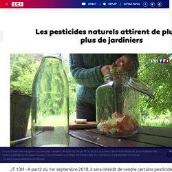 Les pesticides naturels attirent de plus en plus de jardiniers
